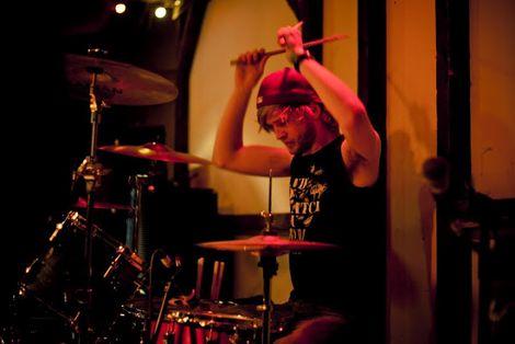 Kusanagi drummer live at FestEVOL at the Kazimier.jpg