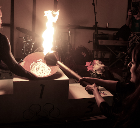 Lighting of the Torch at the Kazimier Krunk Olympics.jpg