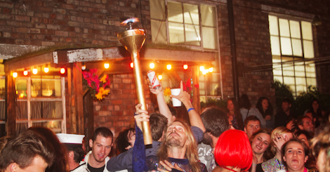 Parading the torch at the Kazimier Krunk Olympics.jpg