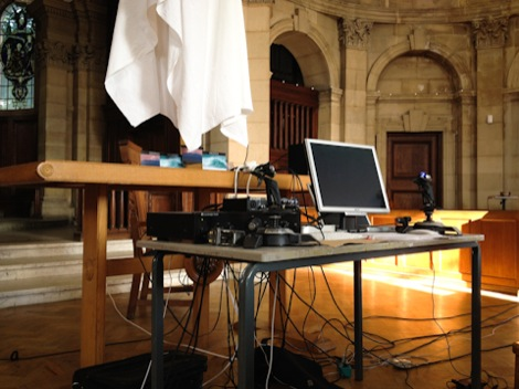 Reinhard Fuchs live at the Chapel of the Bluecoat School for Upitup.jpg