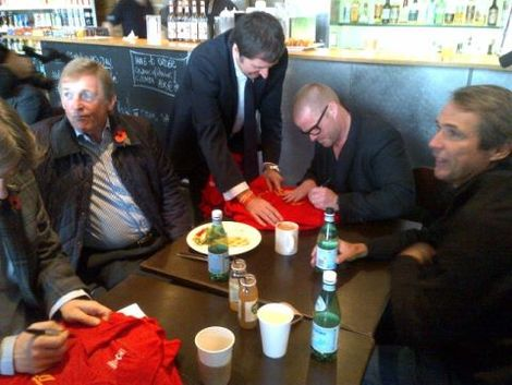 Dalglish and co sign shirts pre-recording.jpg