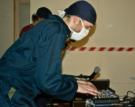 Clinic electronics live at Static Gallery.jpg