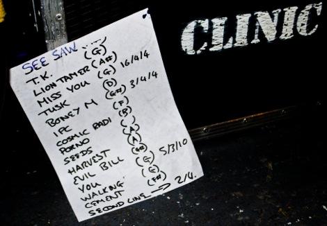 Clinic setlist.jpg