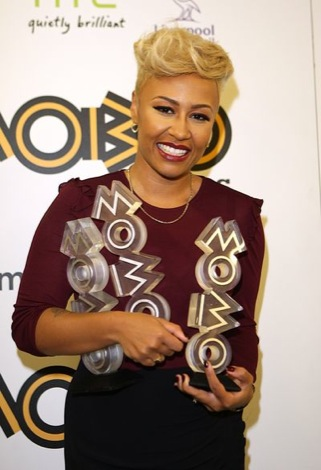 Emeli Sande with her three mobos.jpg