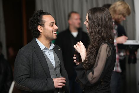 Friends at the GIT Award launch 2013.jpg