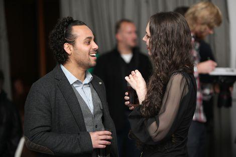 Friends at the GIT Award launch 2013.jpg
