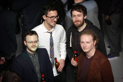 Peter Guy and Loved Ones at the GIT Award launch 2013.jpg