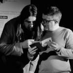 The Quietus' John Doran and Q Mag's Andrew Harrison