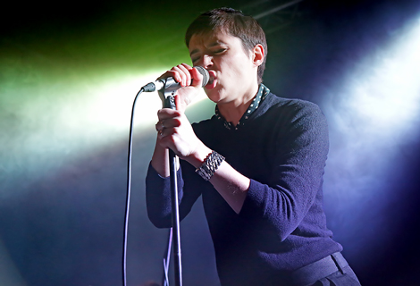 Savages front woman Jehnny Beth