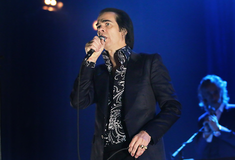 Nick Cave & The Bad Seeds Performing at Manchester O2 Apollo - 3
