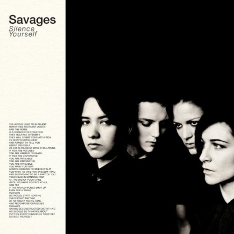 Savages-Silence-Yourself