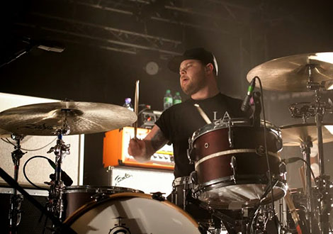 royal blood live review drummer