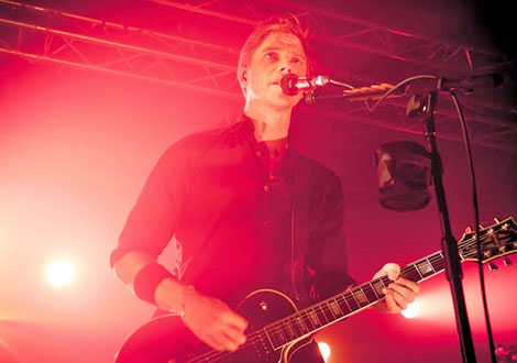 interpol live review NME academy singer