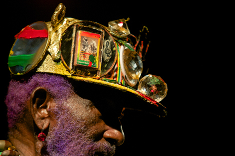 Lee Scratch Perry - live review The Kazimier- Hat