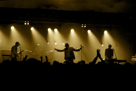 Maximo Park_live review full band