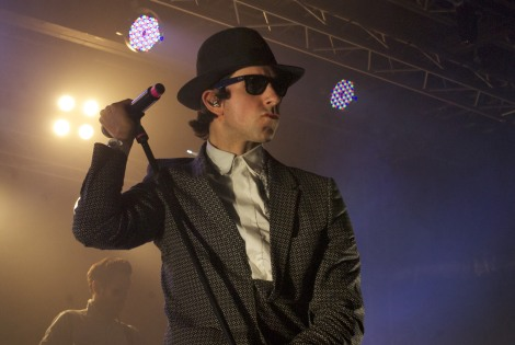 Maximo Park live review academy lead