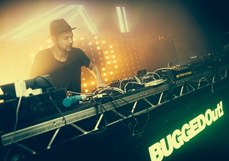 BuggedOutWeekender- live review DJ