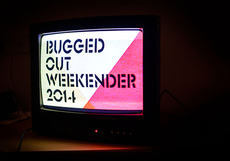 BuggedOutWeekender-live review tv screen