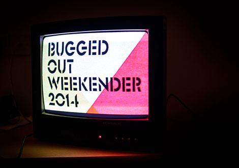 BuggedOutWeekender-live review tv screen