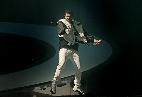 Drake Performing at Liverpool Echo Arena - 22/03/2014