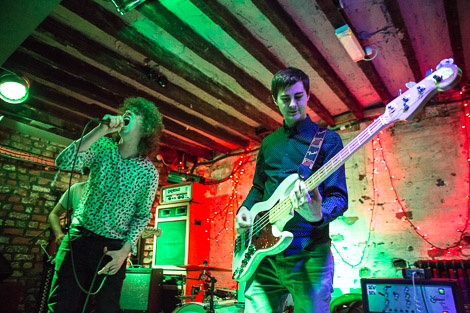 Autobahn live at Shipping Forecast Liverpool