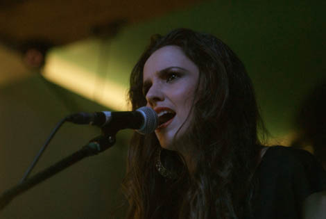 sophia ben-yousef live review threshold 2014 singing