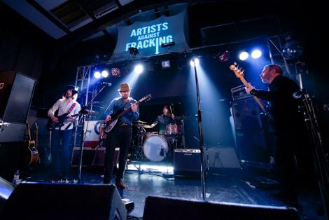 Artists Against Fracking - james skelly