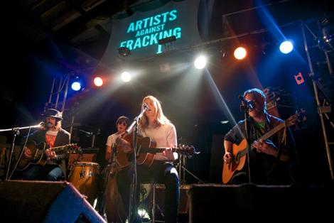 Artists Against Fracking - serpent power