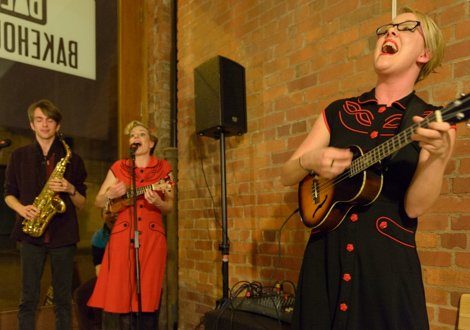 Mersey Belles live at Threshold 2014