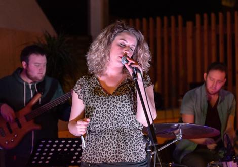 Lauren Housley live at Threshold 2014