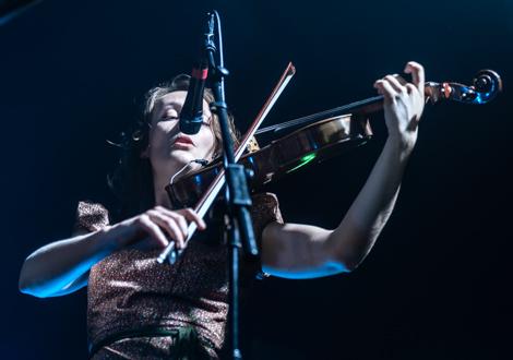 british sea power live at evac violin