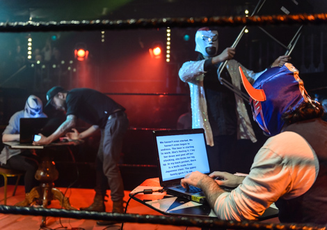 wild writers in the ring kazimier 9