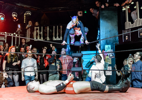 wild writers wrestler infinite promotions 10