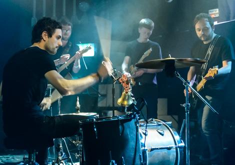 ex-easter island head ensemble live kazimier drum