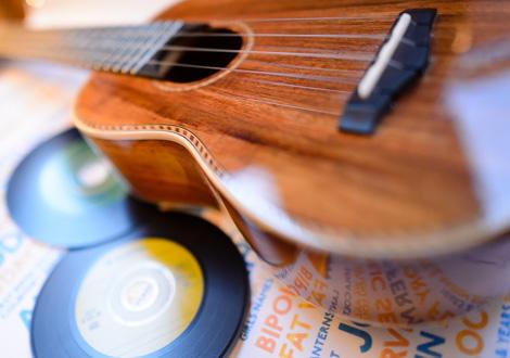 ukulele record montage