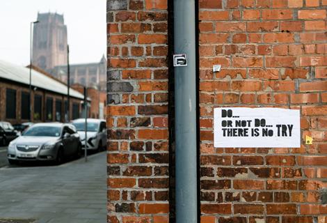 street art at threshold