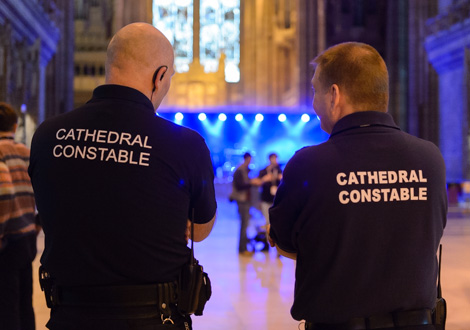 cathedral security
