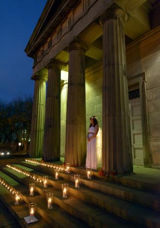 light night bride steps