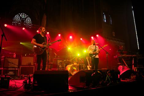 Josh Record cathedral