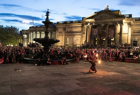 LightNight (25) fire dancers