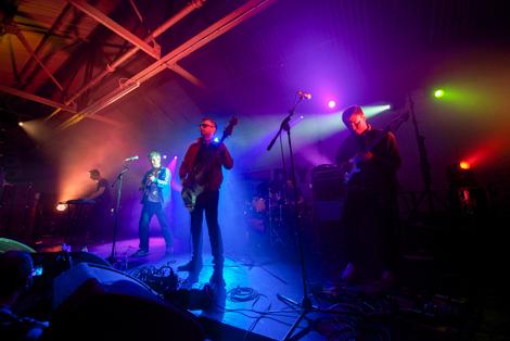 tea street band live at duke street garage