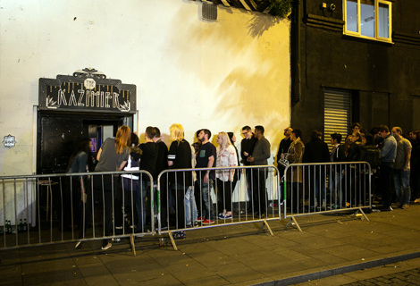 drenge queue at kazimier