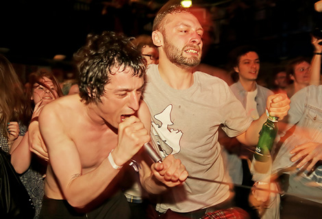 Fat White Family at the Kazimier - but not returning with the NME Tour in 2015