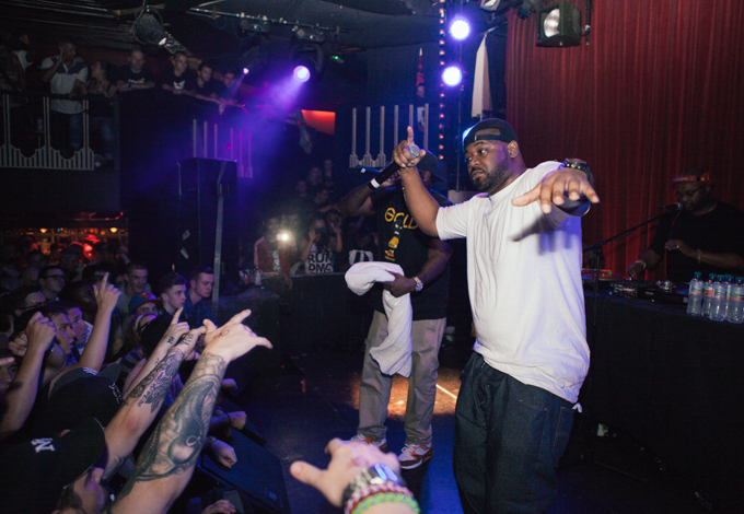 Ghostface performing live at The Kazimier