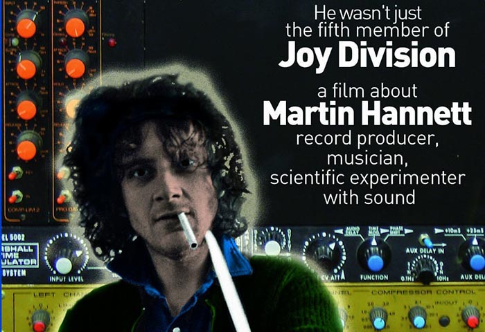 Martin Hannett Biography DVD Cover
