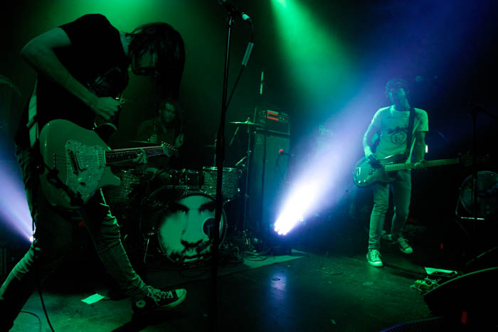 The Cribs live at East Village Arts Club, Liverpool