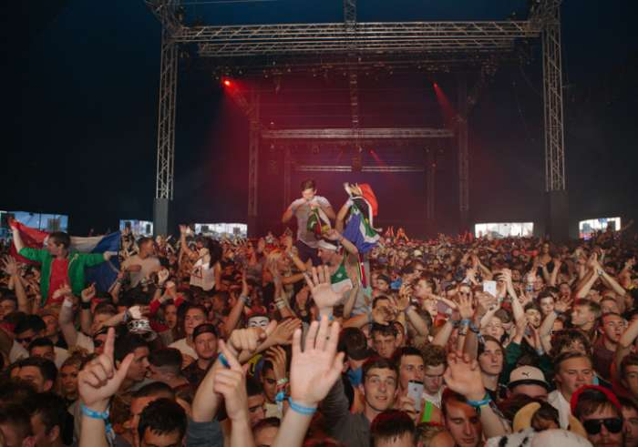 A full house at Creamfields