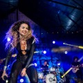 Ella Eyre performing live at MTV Brand New