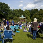 Bandstand Crowd
