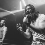 Andrew WK performing live at East Village Arts Club